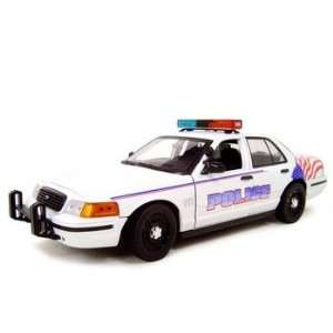 WA POLICE CAR FORD CROWN VICTORIA 118 DIECAST MODEL Toys & Games