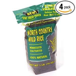 North Country Cultivated 100% Premium Long Grain Wild Rice, 16 Ounce