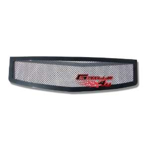 03 07 Cadillac CTS Black Mesh Grille Grill Insert Automotive