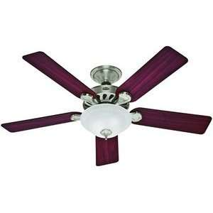 Hunter 23745 Five Minute   52 Ceiling Fan, Brushed Nickel Finish with
