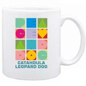New  Peace & Dog  Catahoula Leopard Dog  Mug Dog