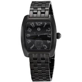 Mini Noir Black Diamond Black IP Bracelet Watch Michele Watches