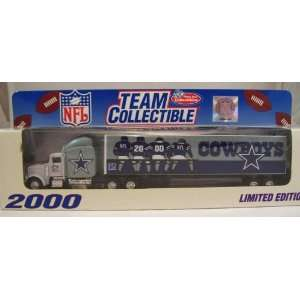 2000 Dallas Cowboys Diecast Tractor Trailer Semi NFL