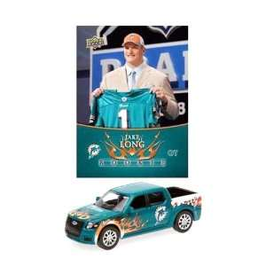 NFL Ford SVT Adrenalin Concept Diecast   Dolphins with Jake Long Card