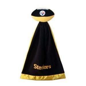 Pittsburgh Steelers Plush NFL Football with Attached
