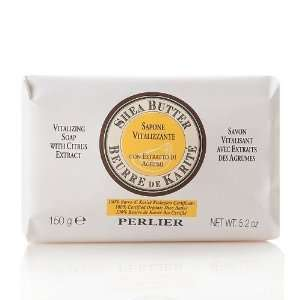 Perlier 5.2 oz. Shea Butter with Citrus Extract Soap Bar