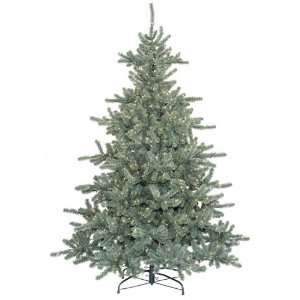 Pre Lit Ballard Spruce Artificial Christmas Tree With Clear