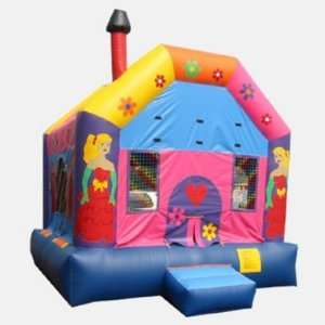 Kidwise 13 Foot Princess Bounce House (Commercial Grade