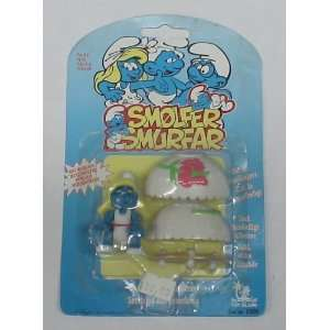 THE SMURFS SMURFETTE ACTION FIGURE MOC
