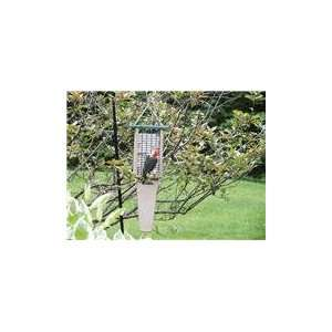 Recycled Doubled Cake Pileated Suet Bird Feeder wit