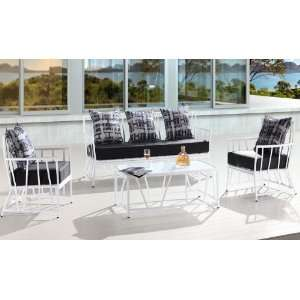 Aluminum Patio Furniture Deep Seating Set Patio, Lawn & Garden