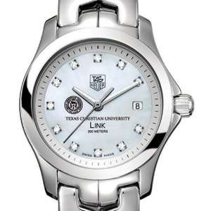 Texas Christian University TAG Heuer Watch   Womens Link with Mother