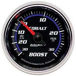 Auto Meter 6103 Cobalt Mechanical Boost / Vacuum Gauge Automotive