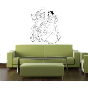SNOW WHITE DISNEY Wall MURAL Vinyl Decal Sticker