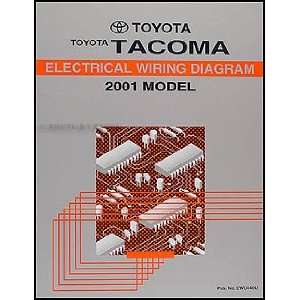 Toyota Tacoma Pickup Wiring Diagram Manual Original Toyota Books