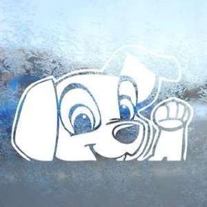102 Dalmatians White Decal Dog Disney 101 Window White Sticker
