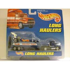 Hot Wheels   LONG HAULERS Transport Rig   Tractor / Trailer and Hot