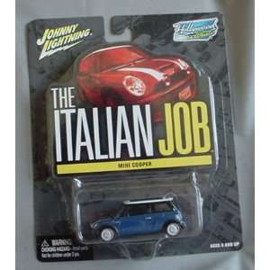 Hollywood on Wheels The Italian Job Mini Cooper BLUE Toys & Games