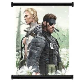 Metal Gear Solid Peace Walker Videogame Wall Scroll Fabric Poster 32