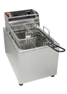 CECILWARE EL25 Commercial 15Lb. Electric Deep Fryer