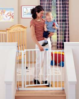 NORTH STATE Auto Close Baby/Child Safety Pet Gate Metal 026107048196