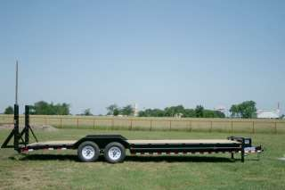 New 26 x 102 Bumper Pull Carhauler Equipment Trailer w/ 7K Axles