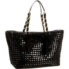 Kate Spade Velvet Weave Small Coal Tote   designer shoes, handbags
